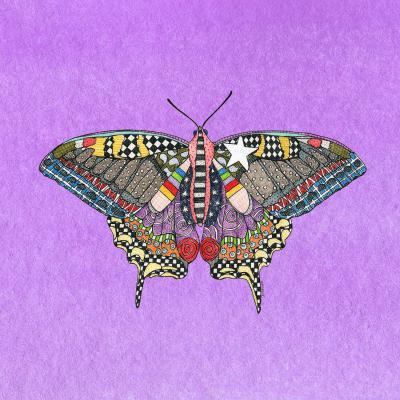 DiaNoche Designs Artist   Marley Ungaro - Butterfly Violet