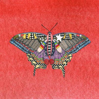 DiaNoche Designs Artist   Marley Ungaro - Butterfly Watermelon