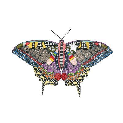 DiaNoche Designs Artist   Marley Ungaro - Butterfly White