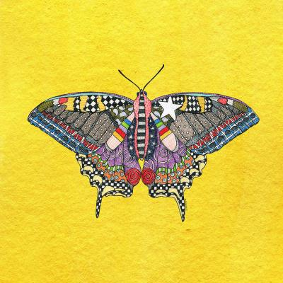DiaNoche Designs Artist   Marley Ungaro - Butterfly Yellow