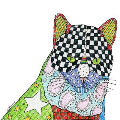 DiaNoche Designs Artist | Marley Ungaro - Cat White