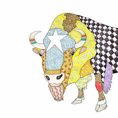 DiaNoche Designs Artist | Marley Ungaro - Bison White