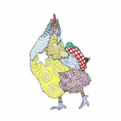 DiaNoche Designs Artist | Marley Ungaro - Chicken White