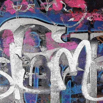 DiaNoche Designs Artist | Martin Taylor - Graffiti 1
