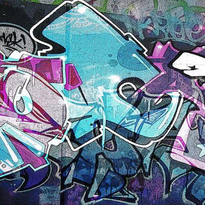 DiaNoche Designs Artist | Martin Taylor - Graffiti 12