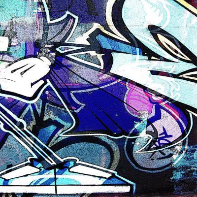 DiaNoche Designs Artist | Martin Taylor - Graffiti 13