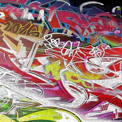 DiaNoche Designs Artist | Martin Taylor - Graffiti 3