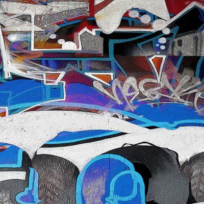 DiaNoche Designs Artist | Martin Taylor - Graffiti 6