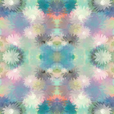 DiaNoche Designs Artist | Pam Amos - Daisy Blush 1 Summer Blues