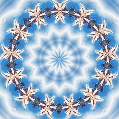 DiaNoche Designs Artist | Pam Amos - Kaleidoscope Blue