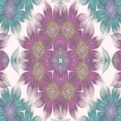 DiaNoche Designs Artist | Pam Amos - Kaleidoscope Flowers