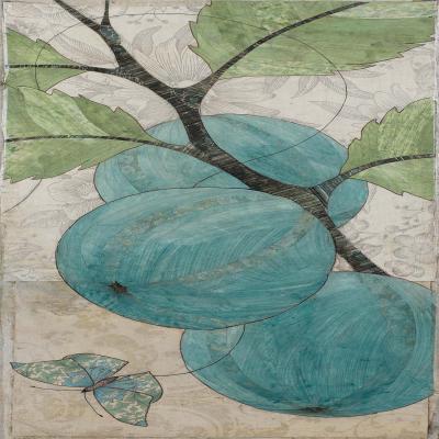 DiaNoche Designs Artist | Paper Mosaic Studio - Blue Bells