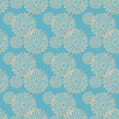 DiaNoche Designs Artist | Paper Mosaic Studio - Blue Stencil