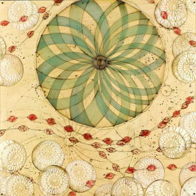 DiaNoche Designs Artist | Paper Mosaic Studio - Circle Love