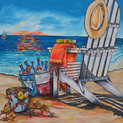 DiaNoche Designs Artist | Patti Schermerhorn - Cerveza Beach