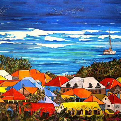DiaNoche Designs Artist | Patti Schermerhorn - Colors of St. Martin