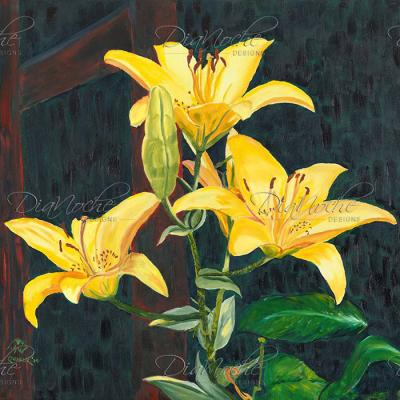 DiaNoche Designs Artist | Paul Cadieux - Midnight Lillies