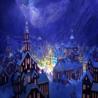 DiaNoche Designs Artist | Philip Straub - Christmas Town