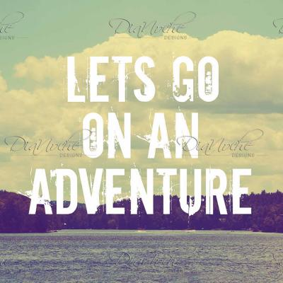 DiaNoche Designs Artist | Rachel Burbee - Lets Go On An Adventure