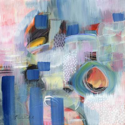 DiaNoche Designs Artist | Rina Patel Art - Rain Walk