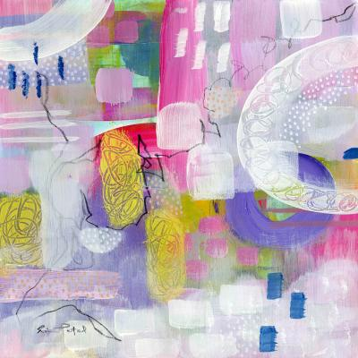 DiaNoche Designs Artist | Rina Patel Art - Tulip Fields