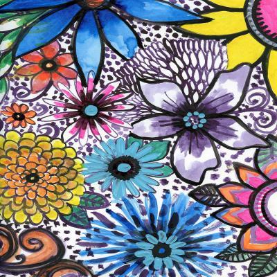DiaNoche Designs Artist | Robin Mead - Flower Pop