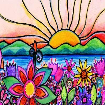 DiaNoche Designs Artist   Robin Mead - Sea Side