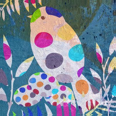 DiaNoche Designs Artist | Ruth Palmer - Cute Bird With Eggs