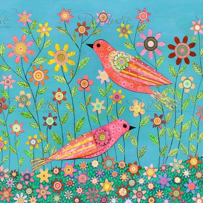 DiaNoche Designs Artist | Sascalia - Bohemian Birds