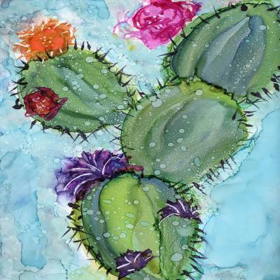 DiaNoche Designs Artist | Shay Livenspargar - Cactus Love