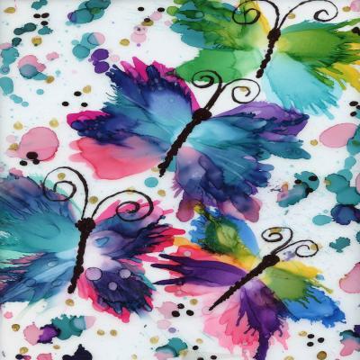 DiaNoche Designs Artist | Shay Livenspargar - Dancing Butterflies