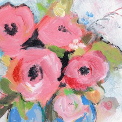 DiaNoche Designs Artist | Sheila Golden - Bouquet in Pink