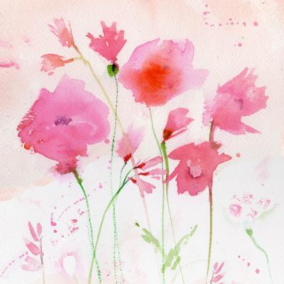 DiaNoche Designs Artist | Sheila Golden - Bright Pink