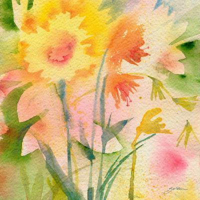 DiaNoche Designs Artist | Sheila Golden - Garden Green Reflection
