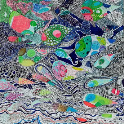 DiaNoche Designs Artist | Sonia Begley - Coral Reef 2