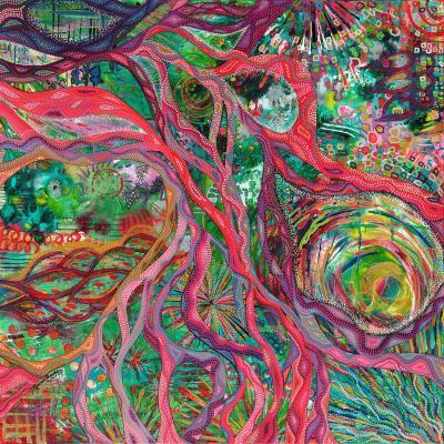 DiaNoche Designs Artist | Sonia Begley - Tropical Coral Sunrise