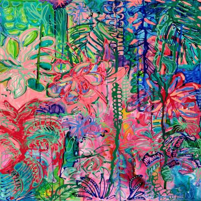 DiaNoche Designs Artist | Sonia Begley - Tropical Holiday Blooms