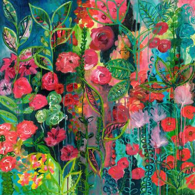 DiaNoche Designs Artist | Sonia Begley - Tropical Night Bloom 2