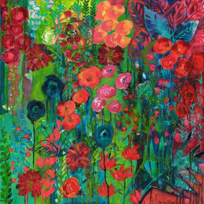 DiaNoche Designs Artist | Sonia Begley - Tropical Night Blooms 1
