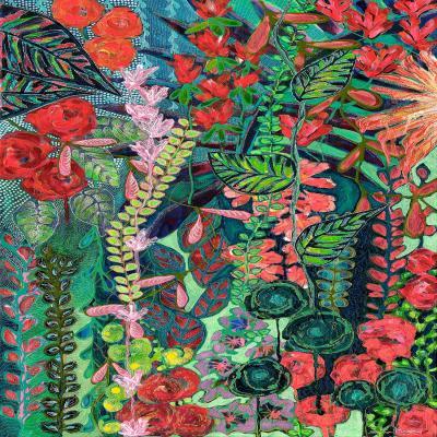 DiaNoche Designs Artist | Sonia Begley - Tropical Night Jungle