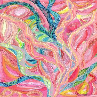 DiaNoche Designs Artist | Sonia Begley - Coral Sunrise