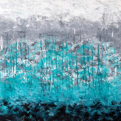 DiaNoche Designs Artist | Sue Allemand - Dripping Turquoise