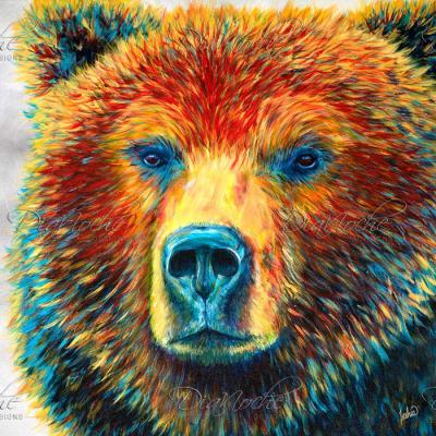 DiaNoche Designs Artist   Teshia - Bear Thoughts