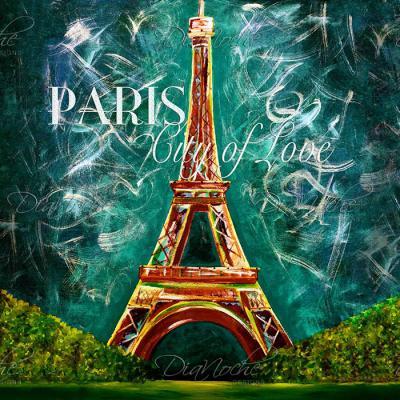 DiaNoche Designs Artist   Teshia - Lamour a Paris Moonlight