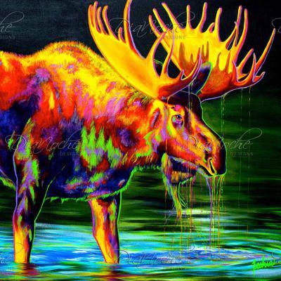 DiaNoche Designs Artist   Teshia - Motley Moose