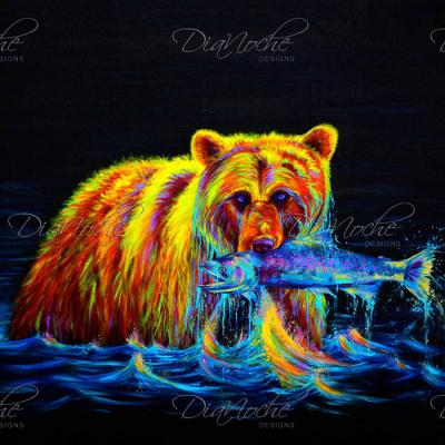 DiaNoche Designs Artist   Teshia - Night of the Grizzly