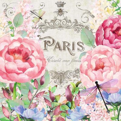 DiaNoche Designs Artist | Tina Lavoie - Paris Flower Market 1