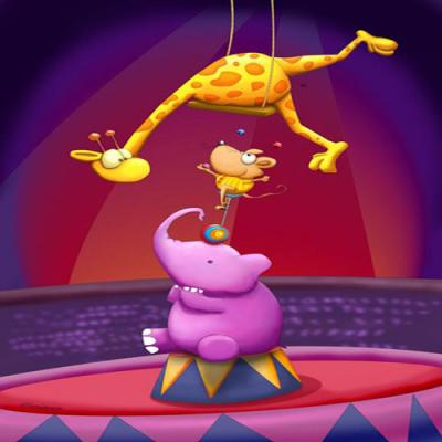 DiaNoche Designs Artist | Tooshtoosh - Circus Fun