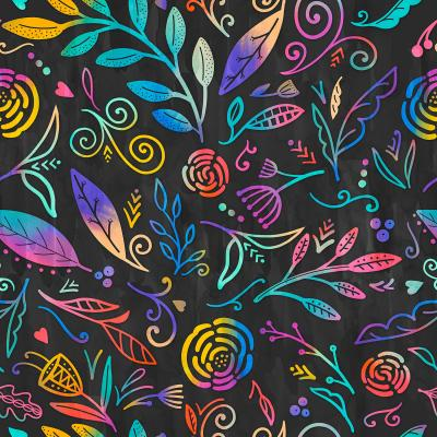 DiaNoche Designs Artist | Noonday Design - Rainbow Flowers