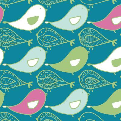 DiaNoche Designs Artist | Traci Nicole Design Studio - Birds Of A Feather Blue Jay